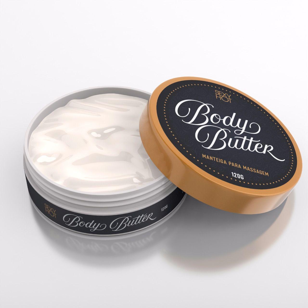 Body Butter Manteiga para Massagem 120g - Sexy Hot