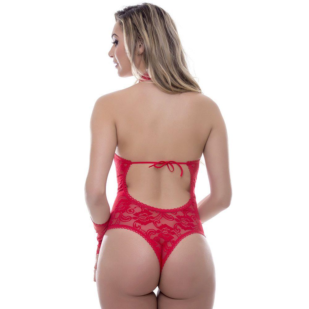 Body Vermelho Amércia