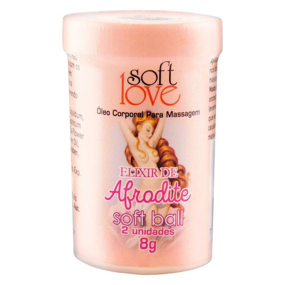 Bolinha Explosiva Soft Ball Elixir de Afrodite - Soft Love
