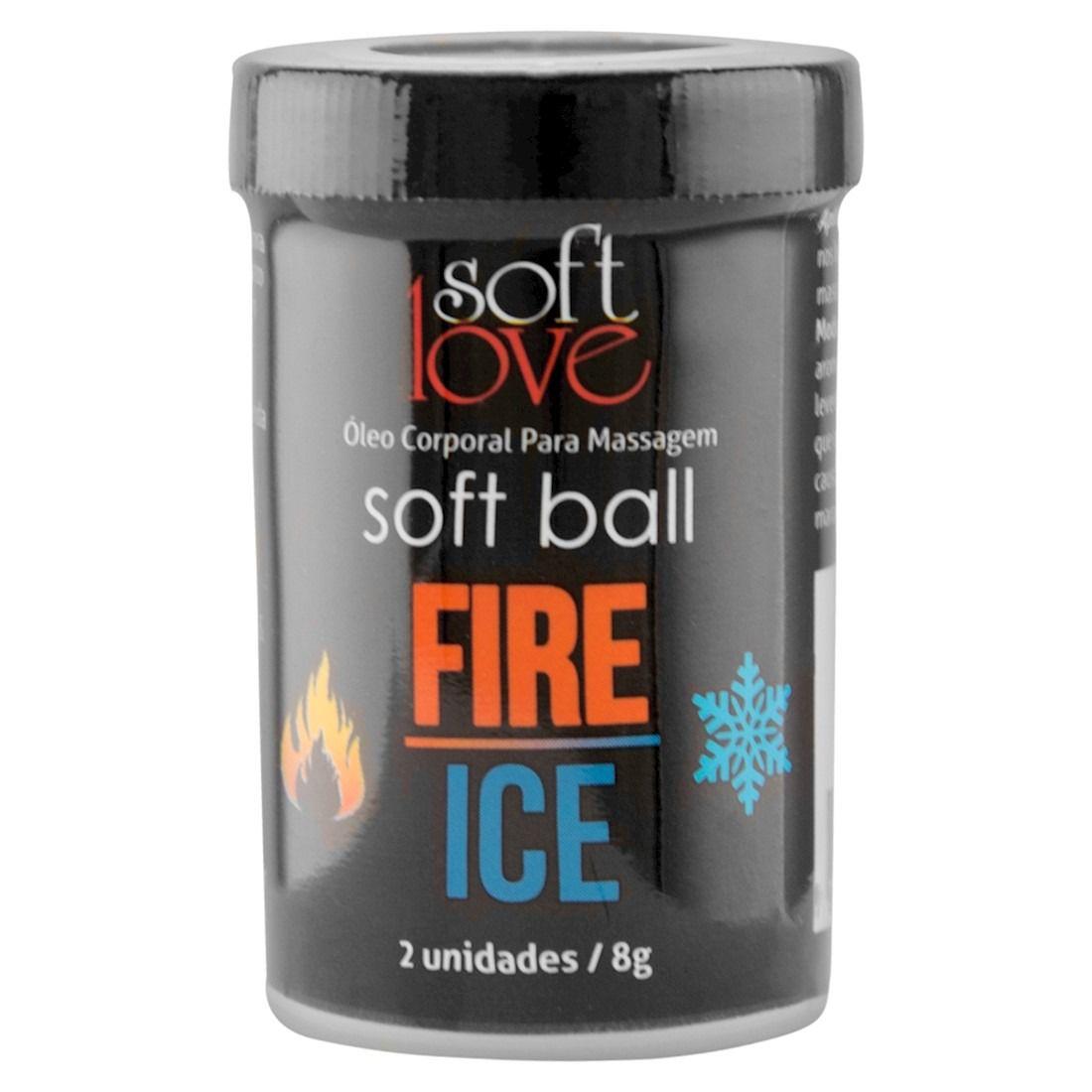 Bolinha Explosiva Soft Ball – Fire e Ice - Soft Love
