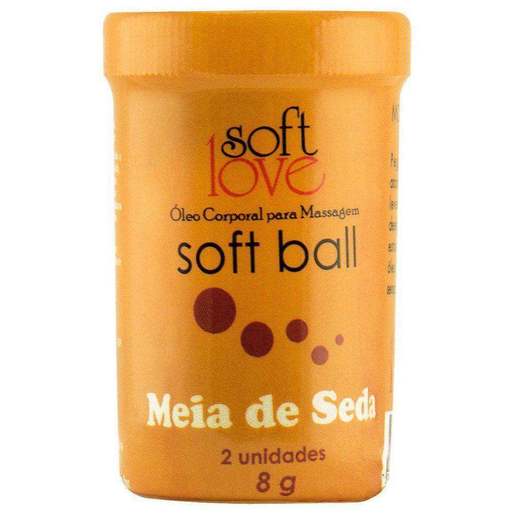 Bolinha Explosiva Soft Ball Meia de Seda - Soft Love