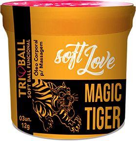 Bolinha Explosiva Soft Ball Triball - Magic Tiger - Soft Love