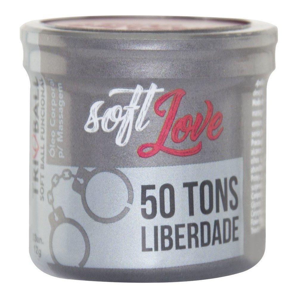 Bolinha Soft Ball Triball 50 Tons de Liberdade - Soft Love