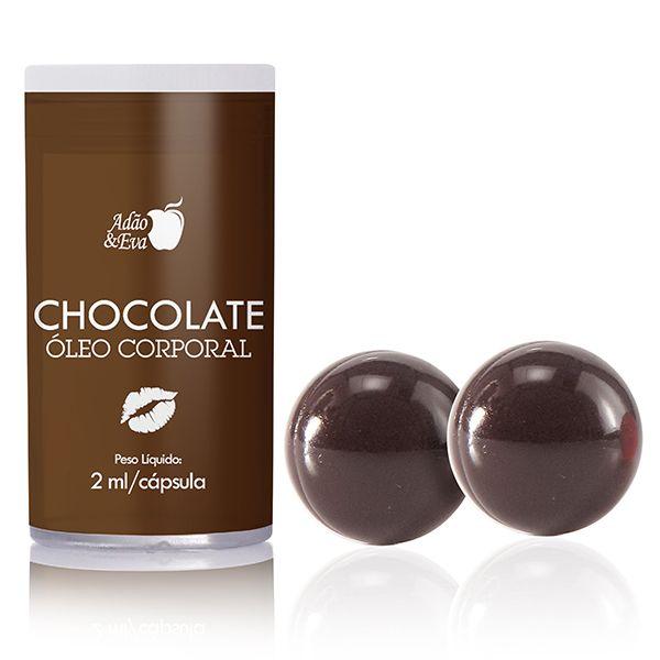 Bolinhas Beijáveis sabor Chocolate com Duas Unidades - Adão & Eva