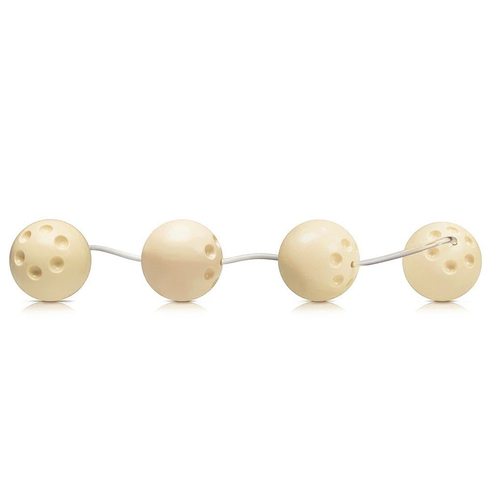 Bolinhas de Pompoar 4 Unidades Marfim - Sexy Fantasy