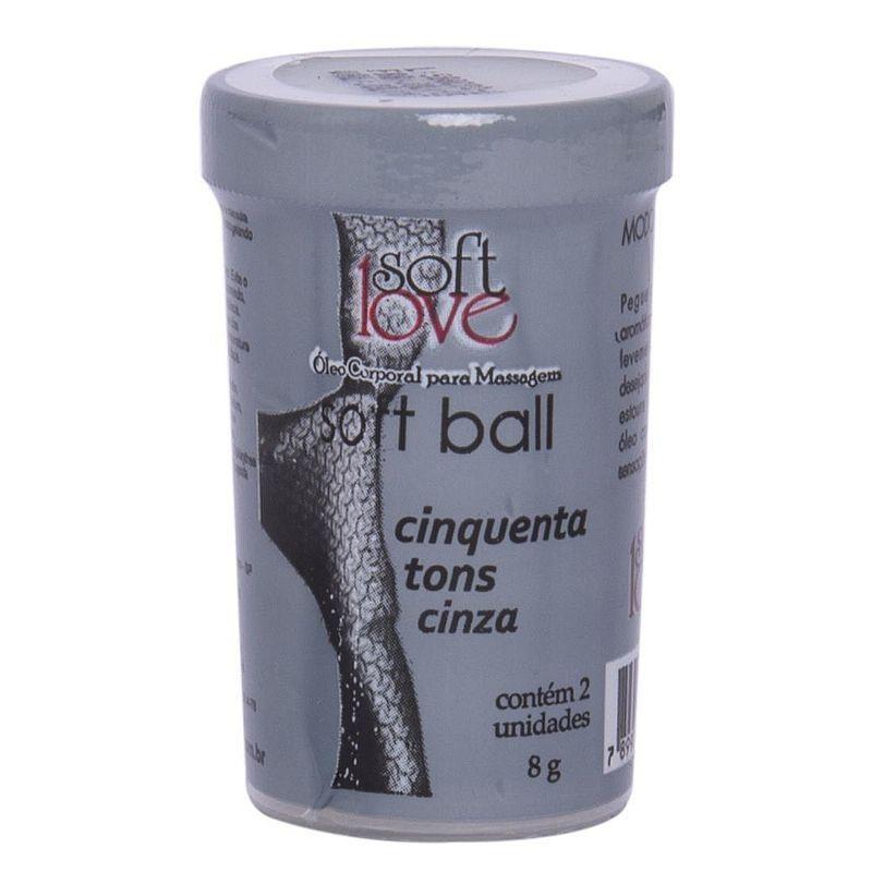 Bolinhas do prazer 50 Tons de Cinza - Soft Love