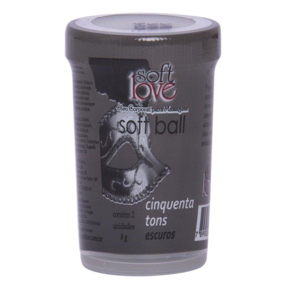 Bolinhas do prazer 50 Tons Mais Escuros - Soft Love