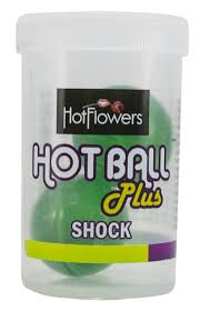Bolinhas do Prazer Shock Hot Ball Plus - Hot Flowers