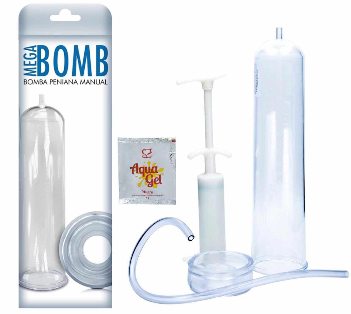 Bomba Peniana Manual  Mega Bomb