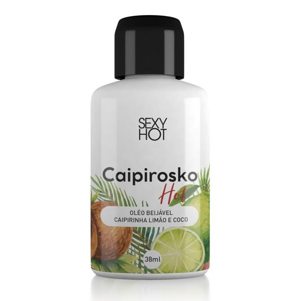 Calda Hot Beijável Sabor Caipirosko - Sexy Hot