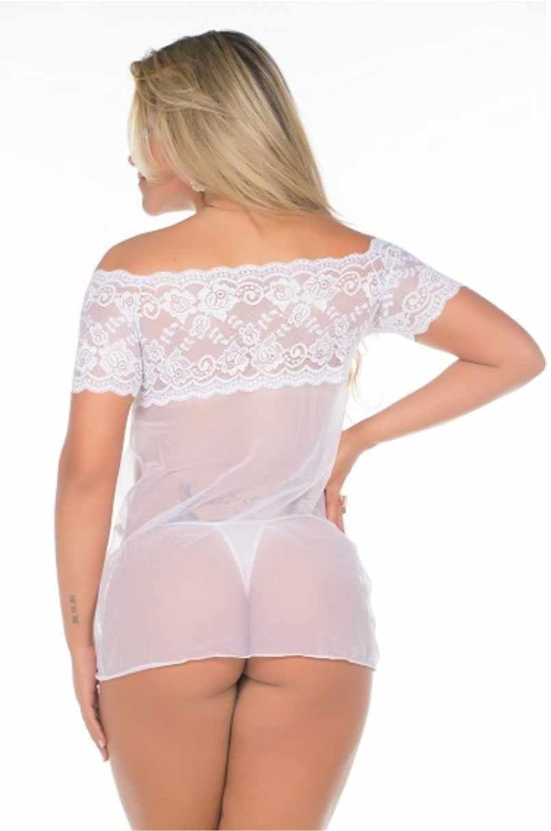 Camisola Branca Gabriela