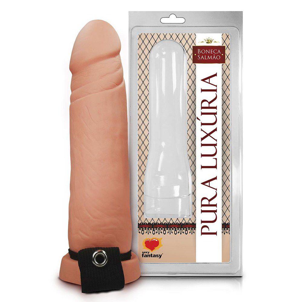 Capa Peniana Realistica 18,5 x 4,3cm - Sexy Fantasy