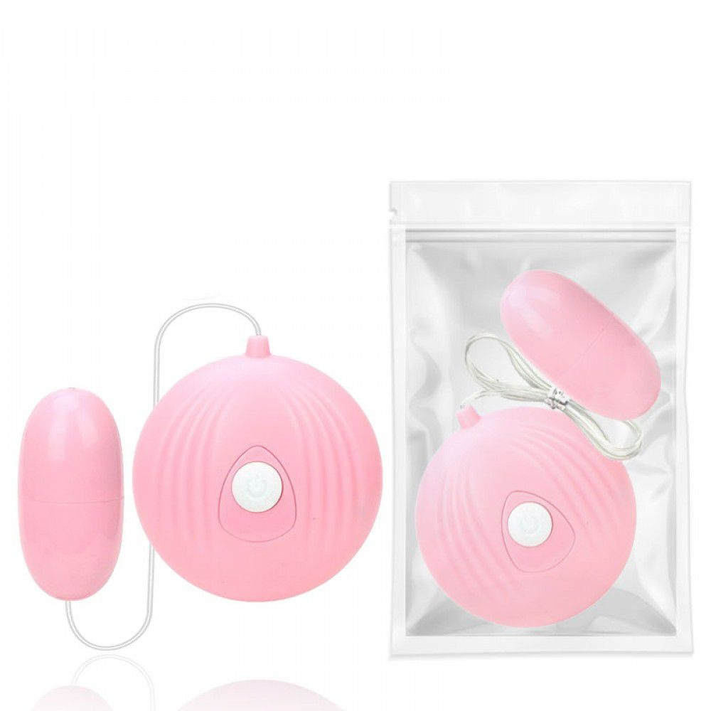 Cápsula Vibratória EGG com 7 modos de Vibração - Rosa