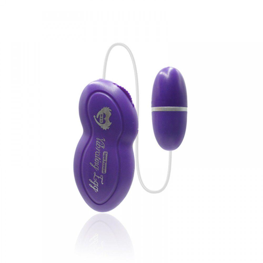 Cápsula Vibratória EGG - Roxa