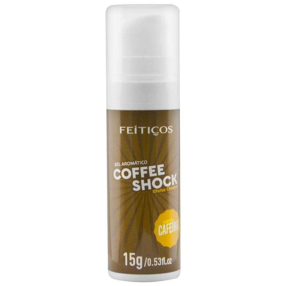 Coffee Shock Gel Eletrizante 15gr - Feitiços
