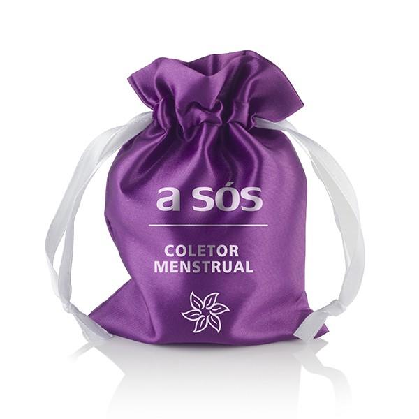 Coletor Menstrual Ecológico A Sós 25ml - A Sós