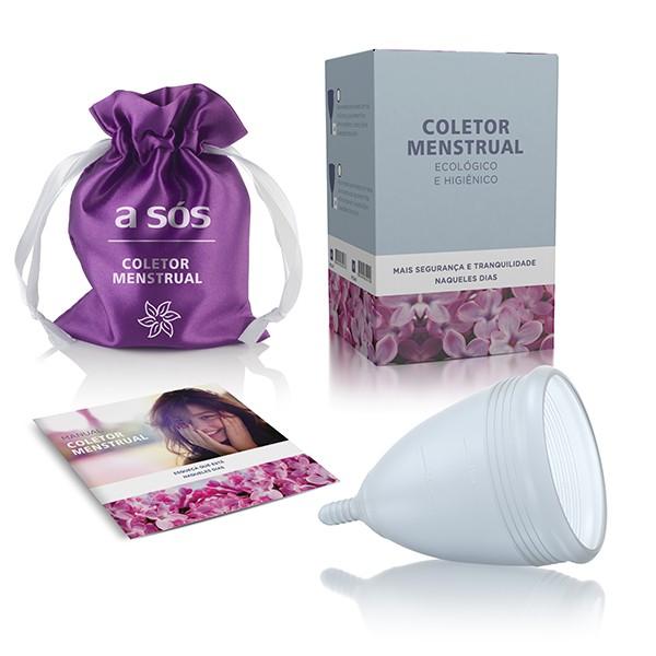 Coletor Menstrual Ecológico A Sós 28ml - A Sós