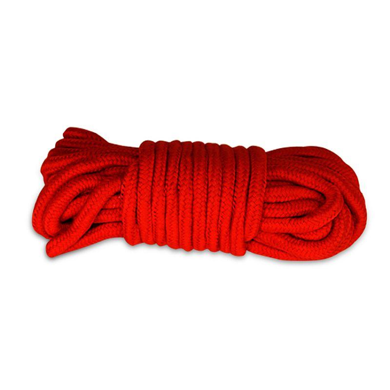 Corda Bondage Fetish Rope Vermelha - Lovetoy