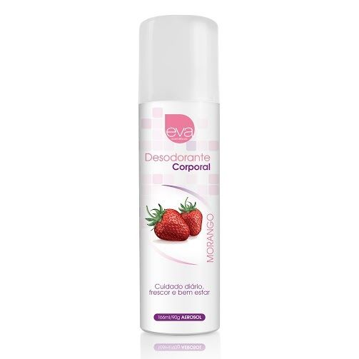 Desodorante Íntimo Aroma Morango com Champanhe 166ml - Eva