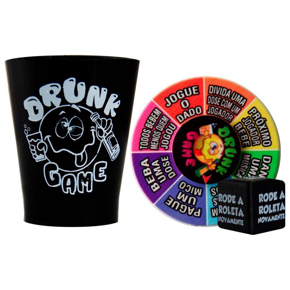 Drunk Game Jogo Roleta com 6 Copos