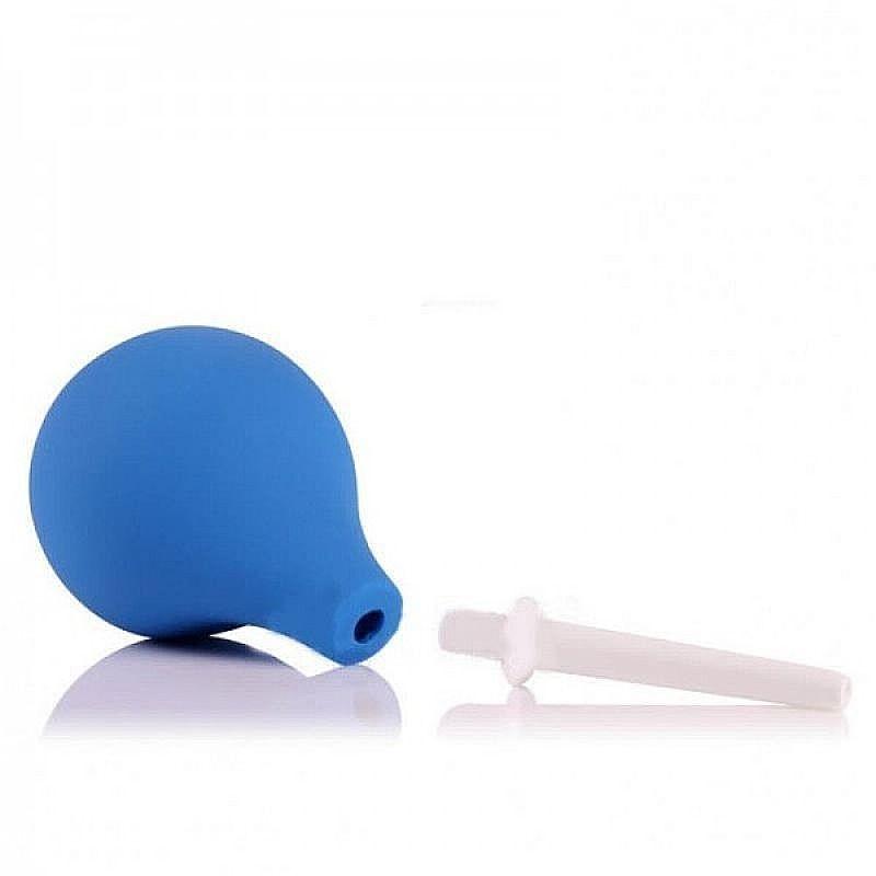 Ducha Higiênica Anal e Vaginal com Aplicador - Azul