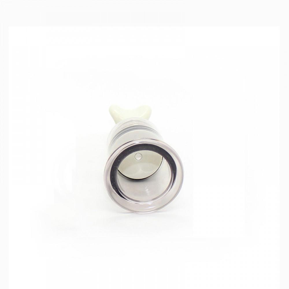 Estimulador de Mamilos e Clitóris com Sucção em Acrílico