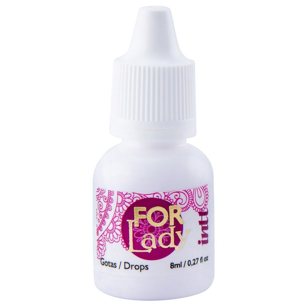 Excitante Feminino For Lady 8ml - Intt