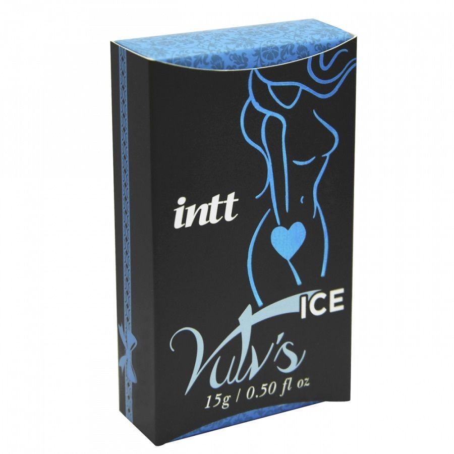 Excitante Vulv´s Ice 4 x 1 de uso Feminino 15gr- Intt