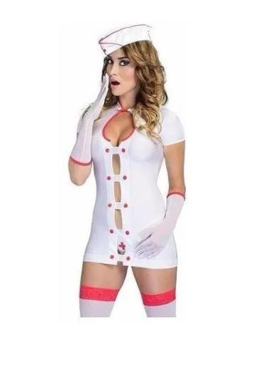 Fantasia Enfermeira Requinte - Hot Flowers
