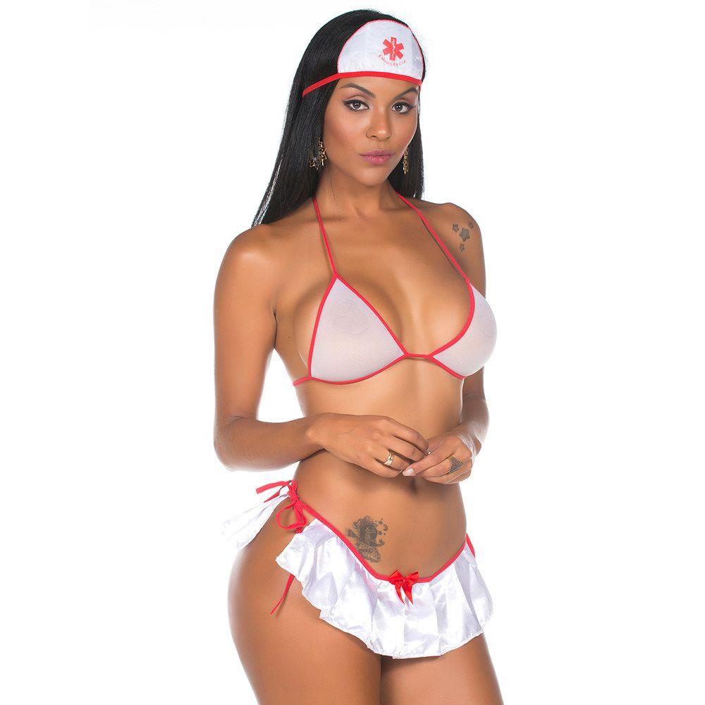 Fantasia Mini Enfermeira Sensual
