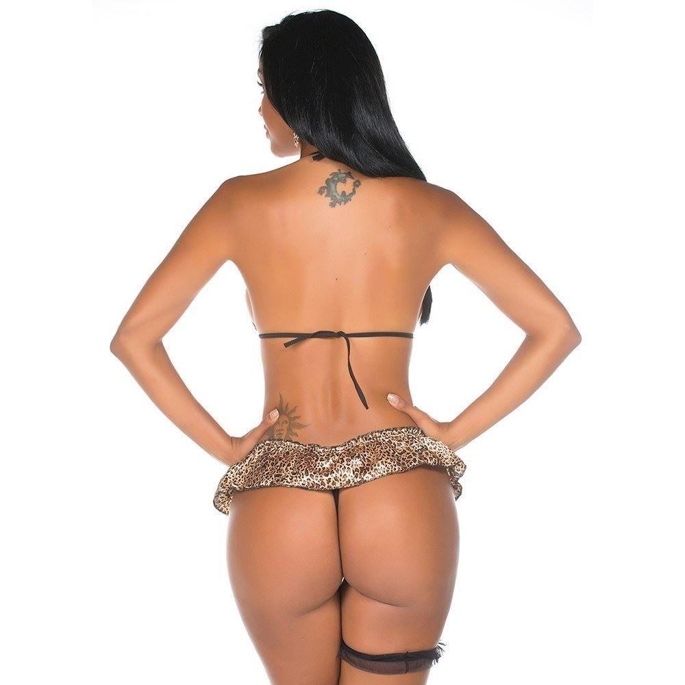 Fantasia Mini Selvagem - Pimenta Sexy
