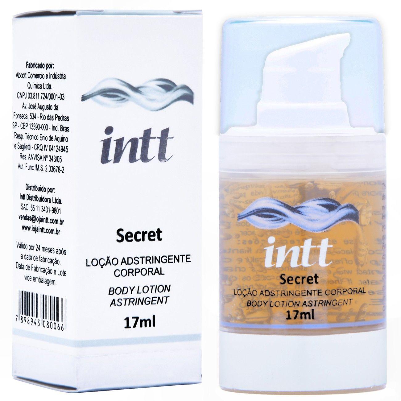 Gel Adstringente Vaginal Secret 17ml – Intt