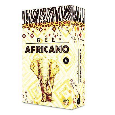 Gel Africano Conforto 8 gr - Sexy Hot