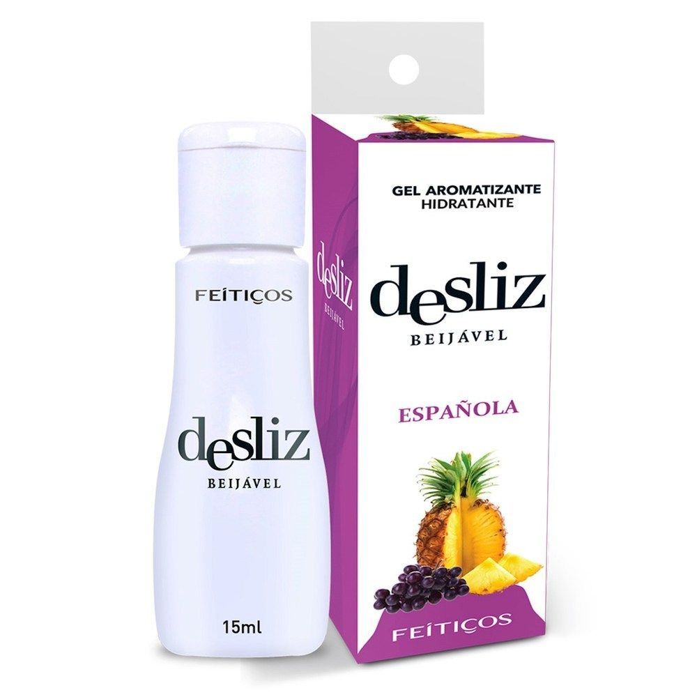 Gel Beijavél Hidratante Espanhola Desliz  15 ml - Feitiços