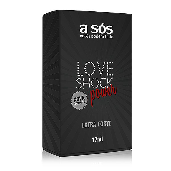 Gel Eletrizante Extra Forte Loveshock Power 17 ml - A Sós