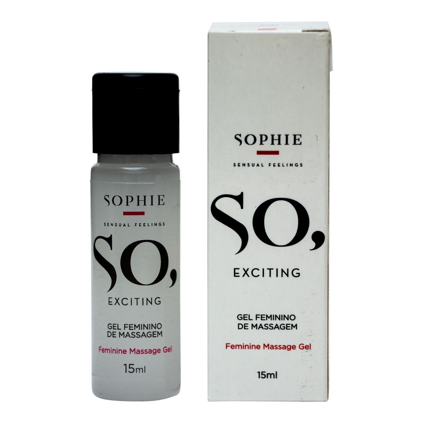 Gel Feminino de Massagem - So Exciting 15ml - Sophie