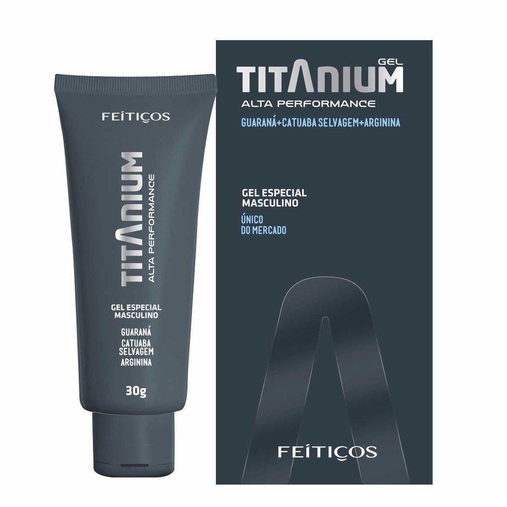Gel Intensificador Masculino Titanium - Feitiços