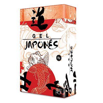 Gel Japonês Retardante 8 gr - Sexy Hot
