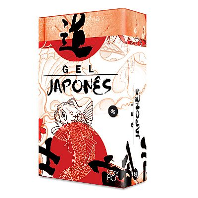 Gel Japonês Retardante 8 gr - Sexy Hot