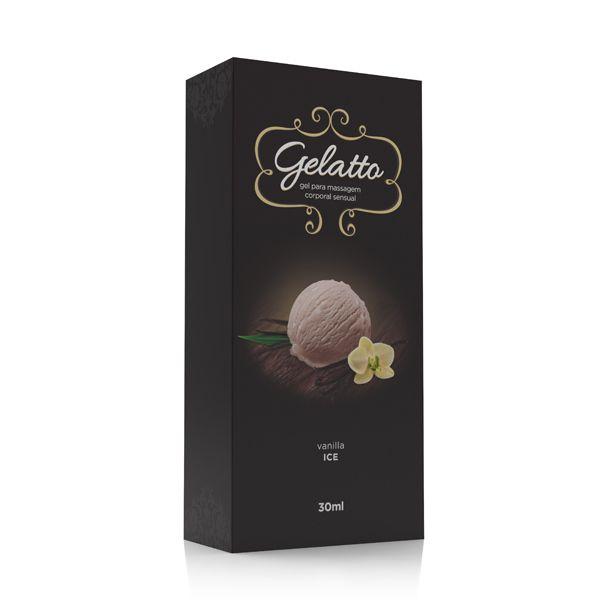 Gel Lubrificante Beijável Gelatto Vanilla 30 ml - A Sós