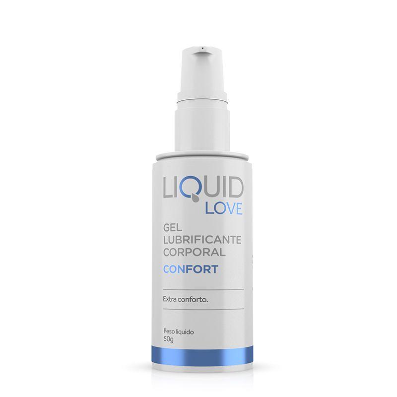 Gel Lubrificante Liquid Love - Confort - Adão e Eva