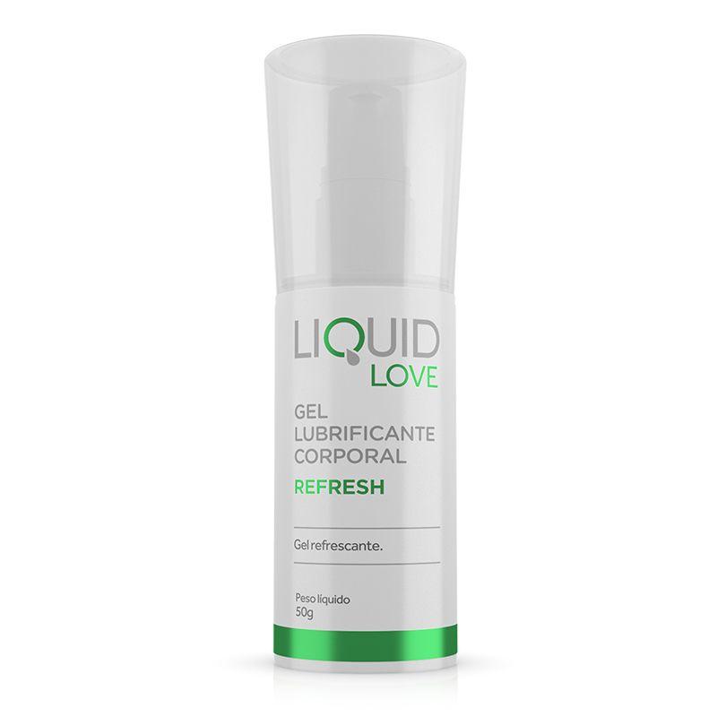 Gel Lubrificante Liquid Love - Refresh- Adão e Eva