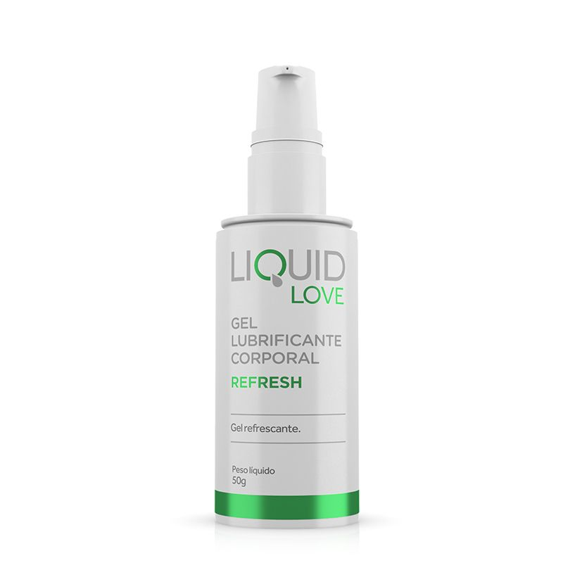 Gel Lubrificante Liquid Love - Refresh- Adão e Eva