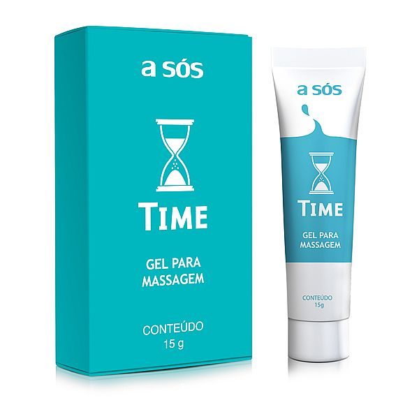 Gel Prolongador Time 15G - A Sós