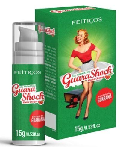 Guara Shock Gel Eletrizante 15gr - Feitiços