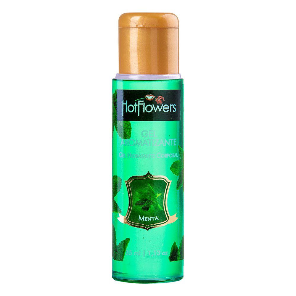 Hot Gel Comestível Hot Flowers Sabor Menta 35 ml