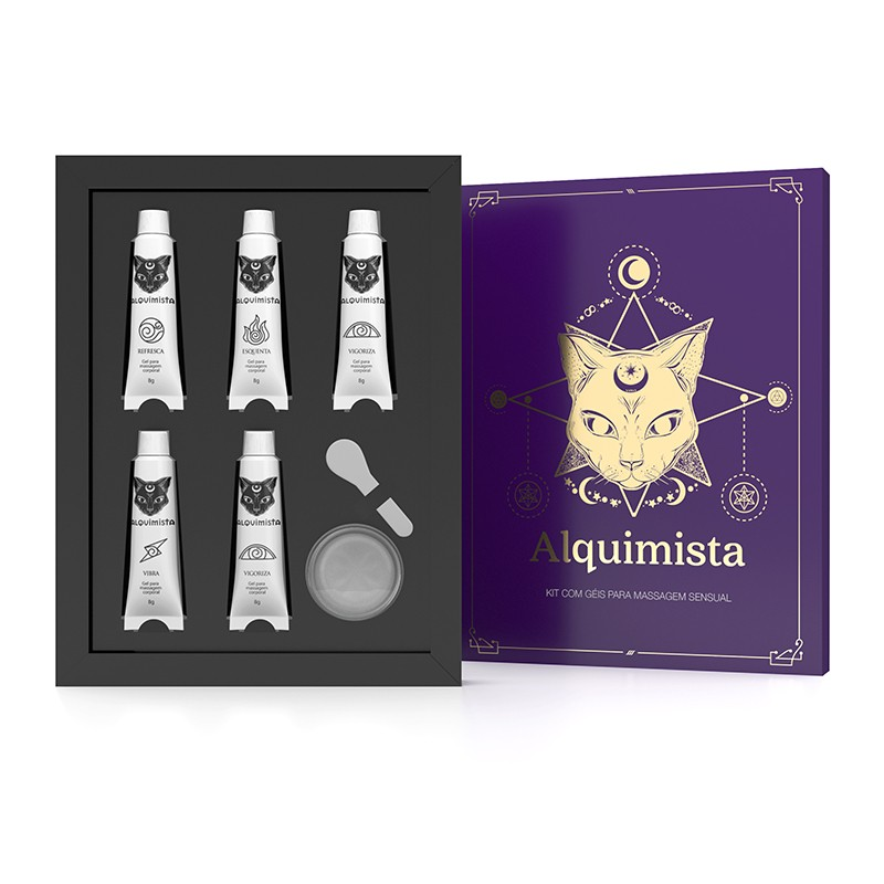 Kit Alquimista Géis para Massagem Corporal - Sexy Hot