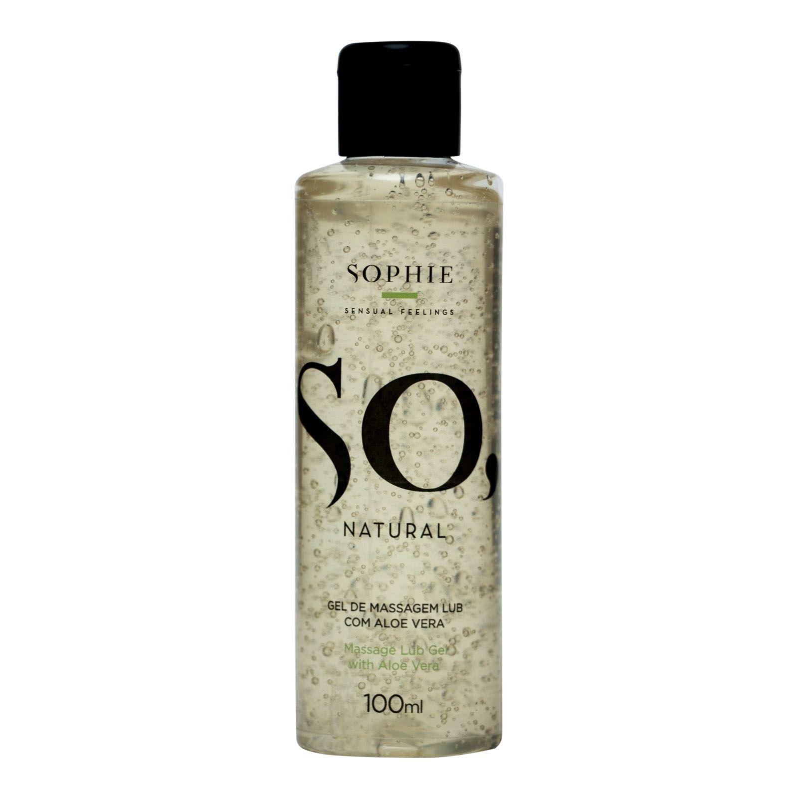 Lubrificante Com Aloe Vera - So Natural 100ml - Sophie