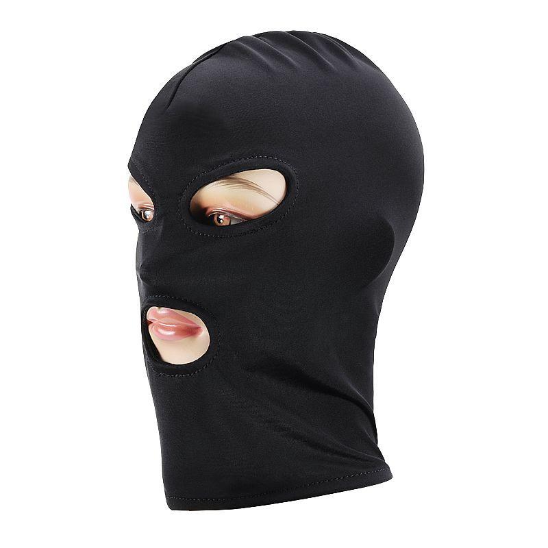 Máscara Lycra com Boca e Olhos Livres Fetiche