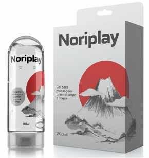 Noriplay - Gel Nuru de Massagem Oriental Corpo a Corpo - Adão e Eva